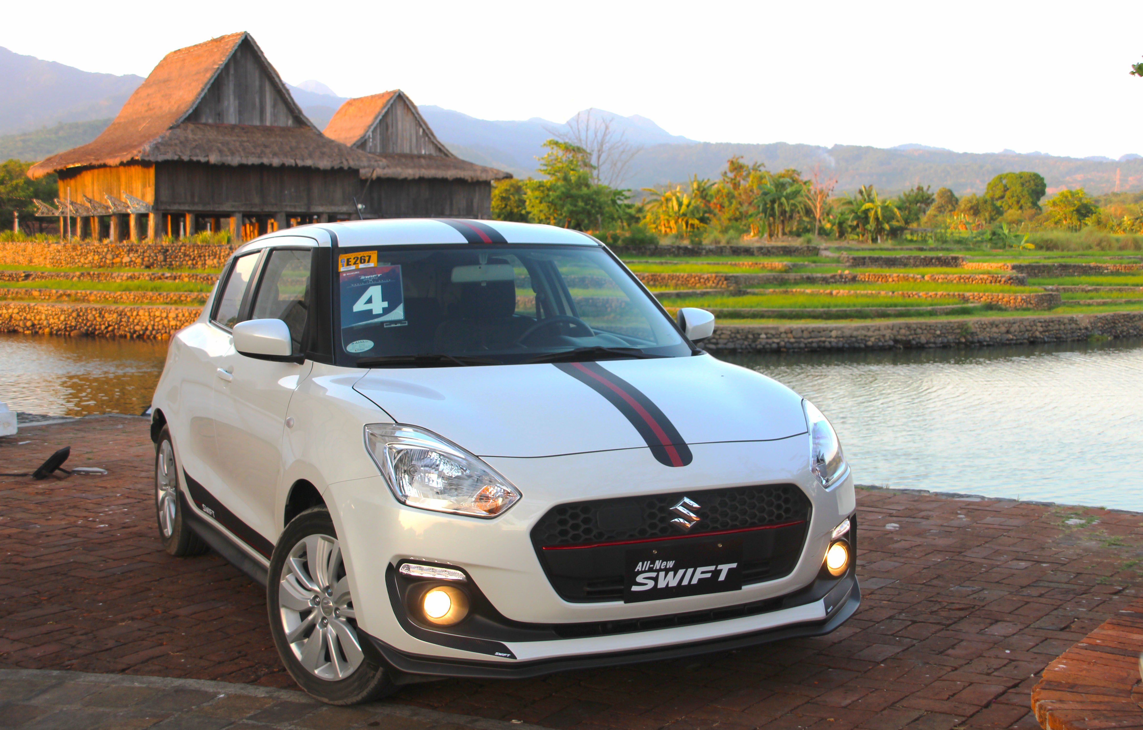 Going back to Old Manila in the Young, Sporty All-new Suzuki Swift