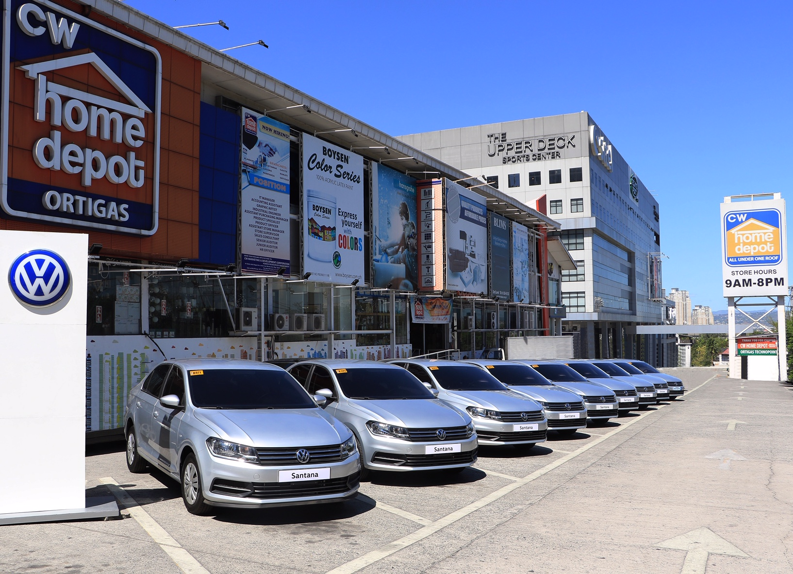 Cw Home Depot Orders More Vw Santana Sedans