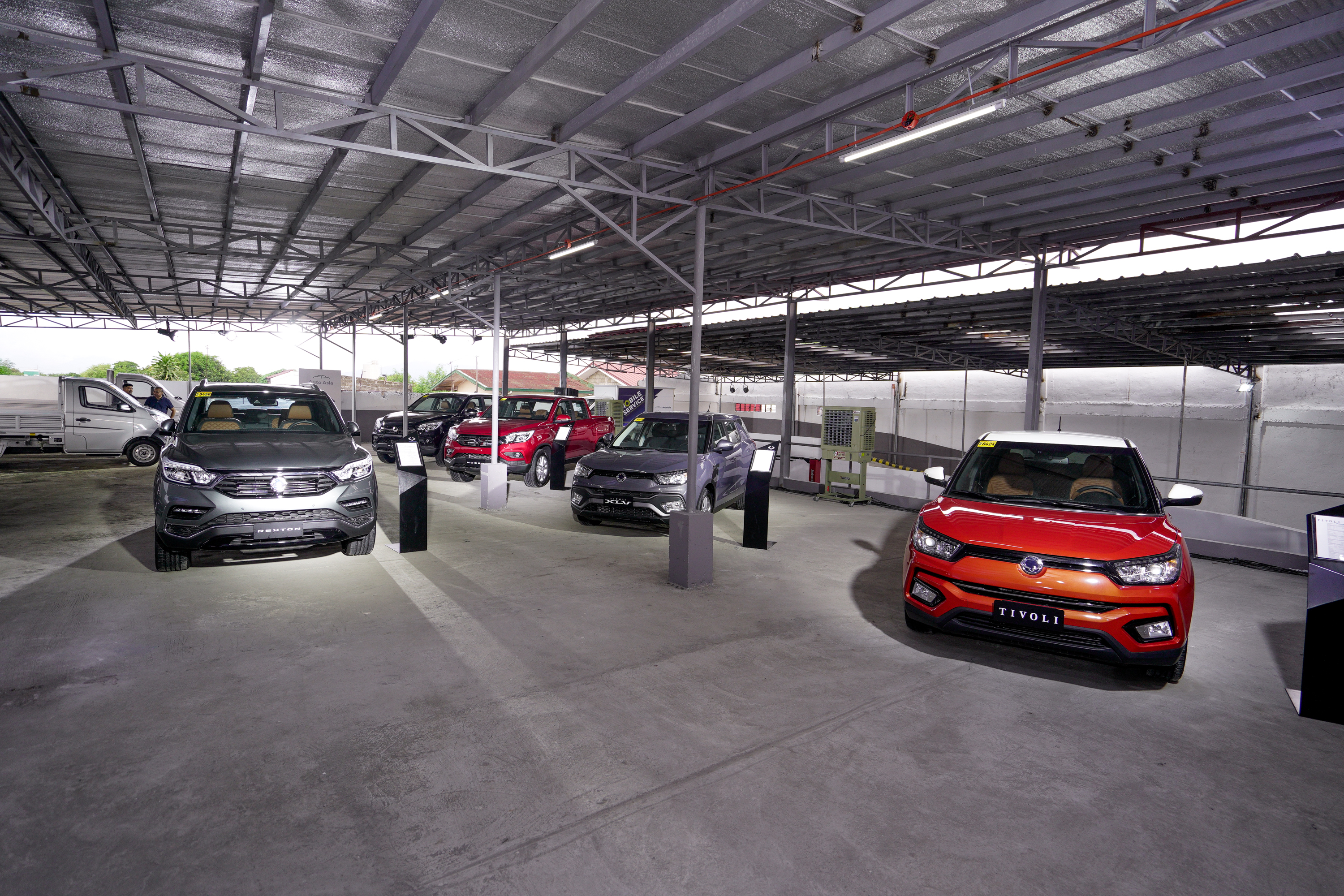 Auto Asia Inaugurates Sta Rosa Dealership Features Ssangyong And