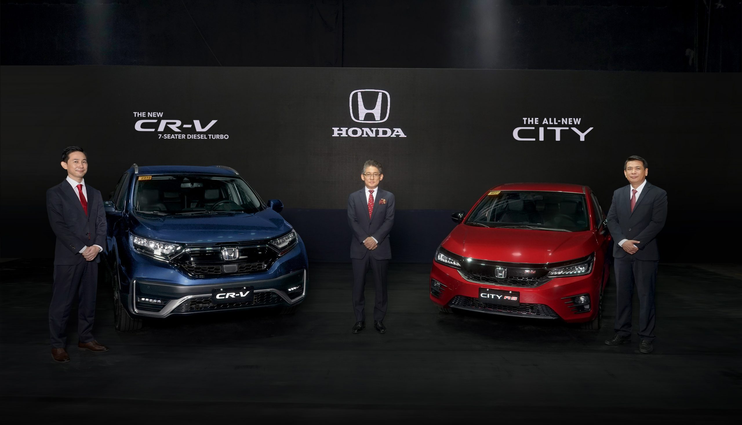 Hondaph Unveils All New City And New Cr V